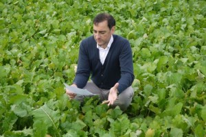 Alistair McGowan during filming the TEV Film Greening The Vale